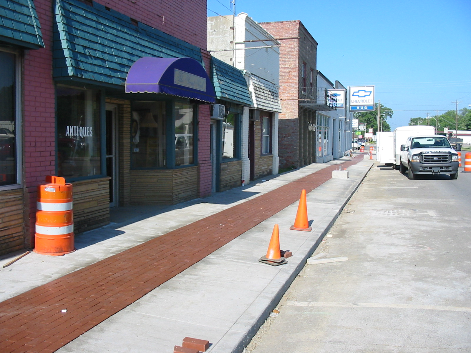 Charleston Sidewalk Enhancement